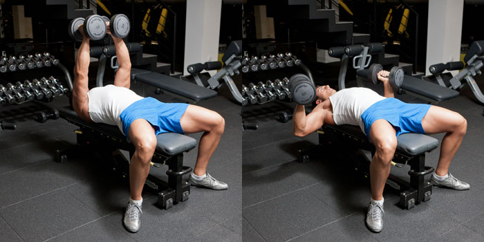 Hammer-Grip-Dumbbell-Bench-Press
